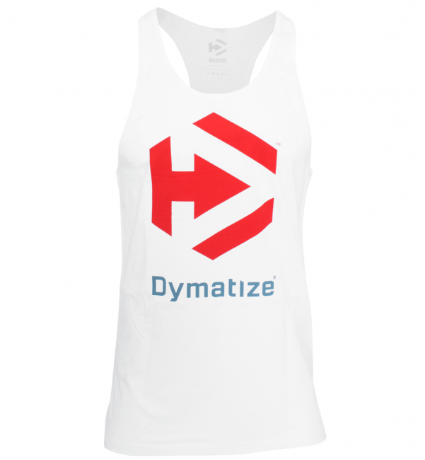 GET DYMATIZED STRINGER - WHITE