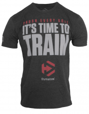 TIME TO TRAIN - CHARCOAL HEATHER