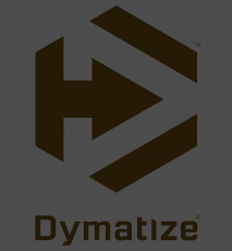 DYMATIZE LOGO TEE - CHARCOAL HEATHER